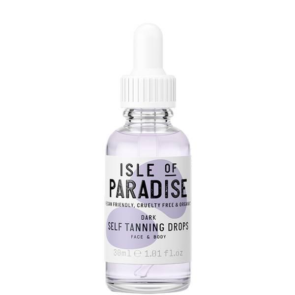 Isle of Paradise Self-Tanning Drops - Dark 30ml