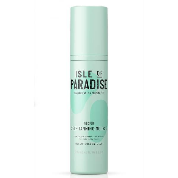 Isle of Paradise Self-Tanning Mousse - Medium 200ml