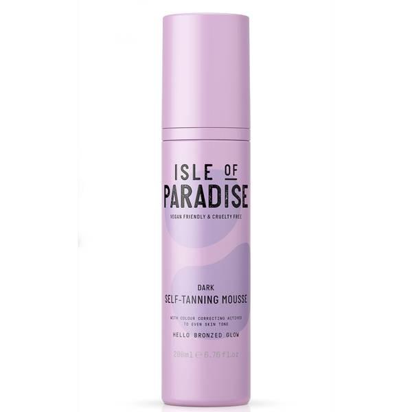 Isle of Paradise Self-Tanning Mousse - Dark 200ml