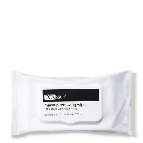 PCA SKIN Makeup Removing Wipes (25 count)
