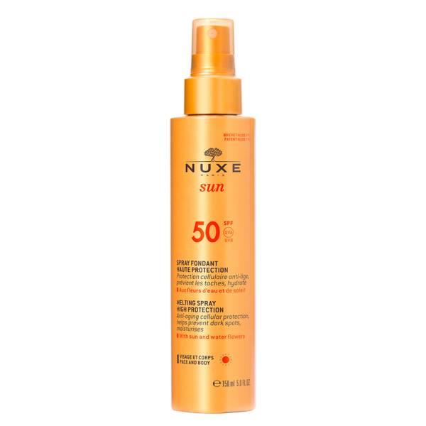 Melting Spray for Face and Body SPF50, Nuxe Sun 150ml