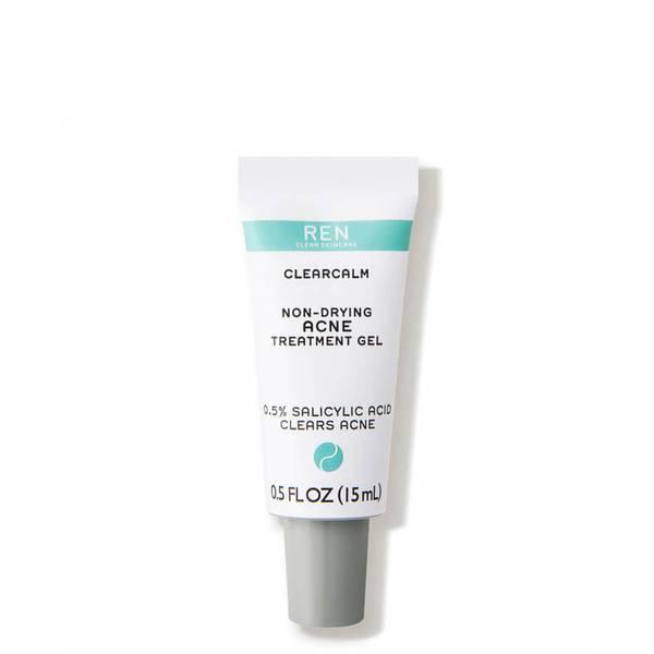 REN Clean Skincare ClearCalm Non-Drying Acne Treatment Gel (0.5 fl. oz.)