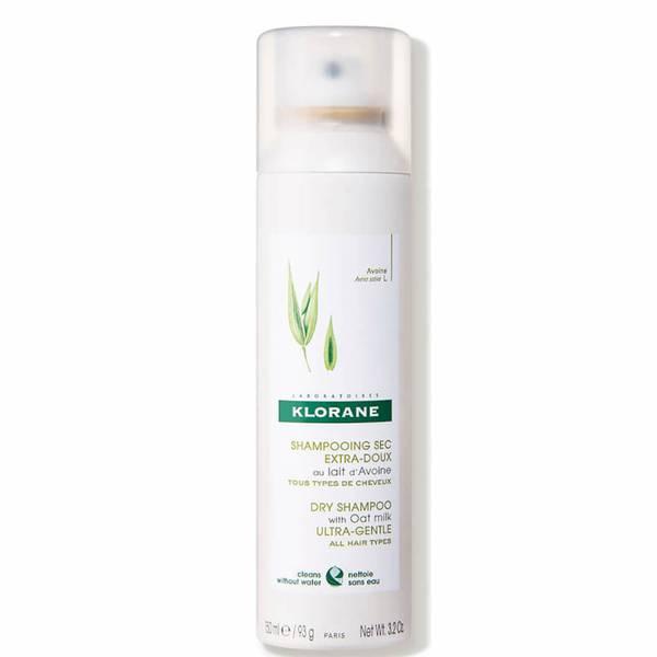 Klorane Dry Shampoo with Oat Milk - All Hair Types 3.2 oz.