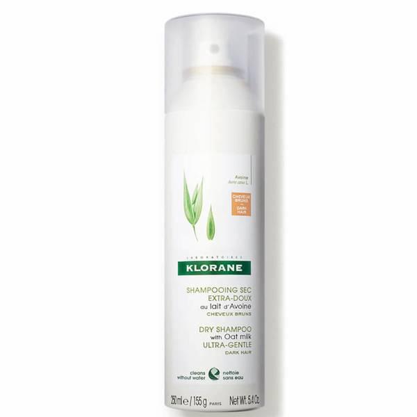 KLORANE Dry Shampoo with Oat Milk - For Dark Hair (5.4 oz.)