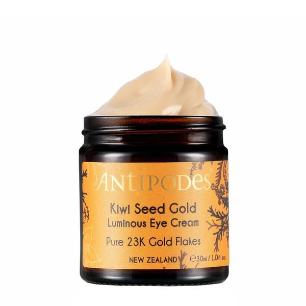 Kiwi Seed Gold Contour Des Yeux Éclat D'Or À L'Huile De Kiwi 30ml