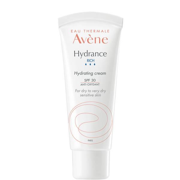 Avène Hydrance Rich-UV Hydrating Cream SPF30 Moisturiser for Dehydrated Skin 40ml