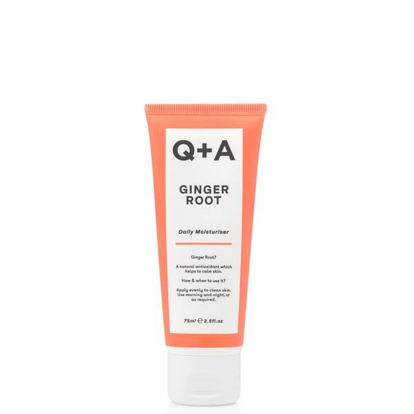 Q+A Ginger Root Daily Moisturiser 75ml