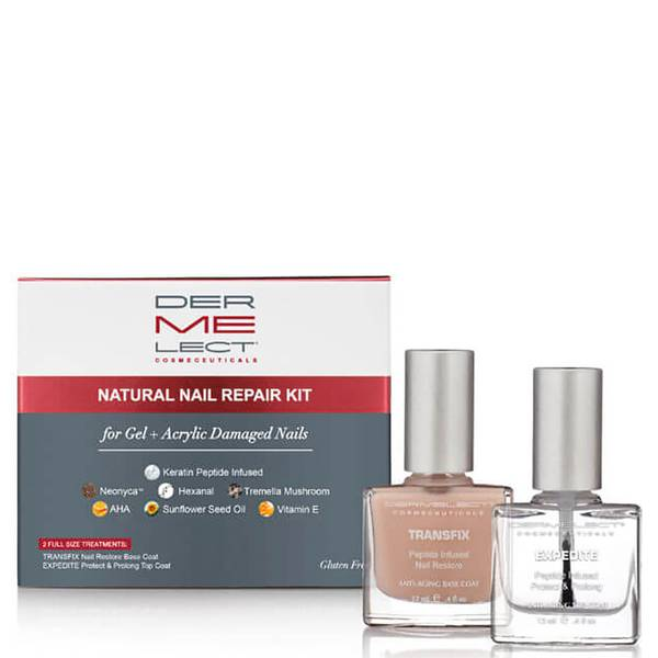 Dermelect Natural Nail Repair Kit 2 piece - $34 Value