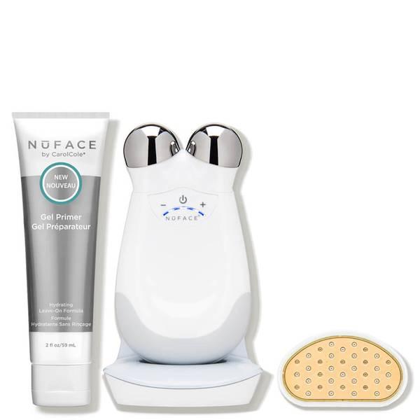 NuFACE Trinity Facial Toning Kit Trinity Wrinkle Reducer Attachment Set (5 piece - $474 Value)