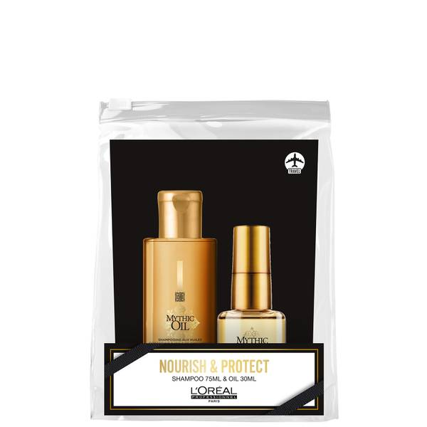 L'Oréal Professionnel Mythic Oil Christmas Mini Set for Soft and Shiny Hair 105ml
