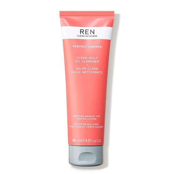 REN Clean Skincare Perfect Canvas Clean Jelly Oil Cleanser (3.3 fl. oz.)