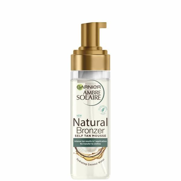 Mousse Autoabbronzante Vegan Natural Bronzer Intenso Clear Garnier Ambre Solaire 200ml