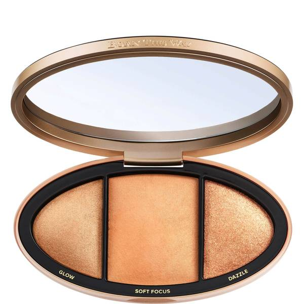Too Faced Born This Way Turn Up the Light Skin-Centric Highlighting Palette - Tan