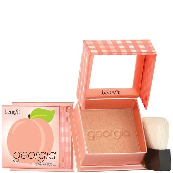 benefit Georgia Golden Peach Powder Blush