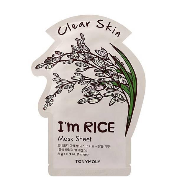 TONYMOLY I'm Rice Sheet Mask 21g