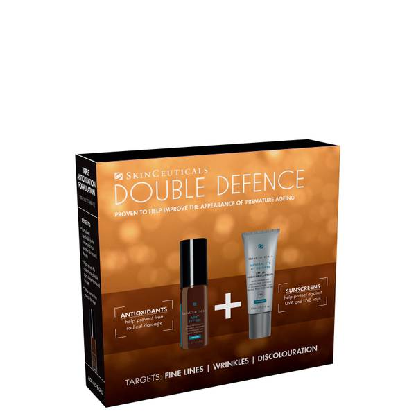 SkinCeuticals Double Defence Kit AOX and Eye and Mineral Eye UV Defense Duo (Worth £105.00)