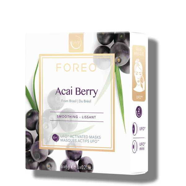FOREO Acai Berry UFO/UFO Mini Firming Face Mask for Ageing Skin (6 Pack)