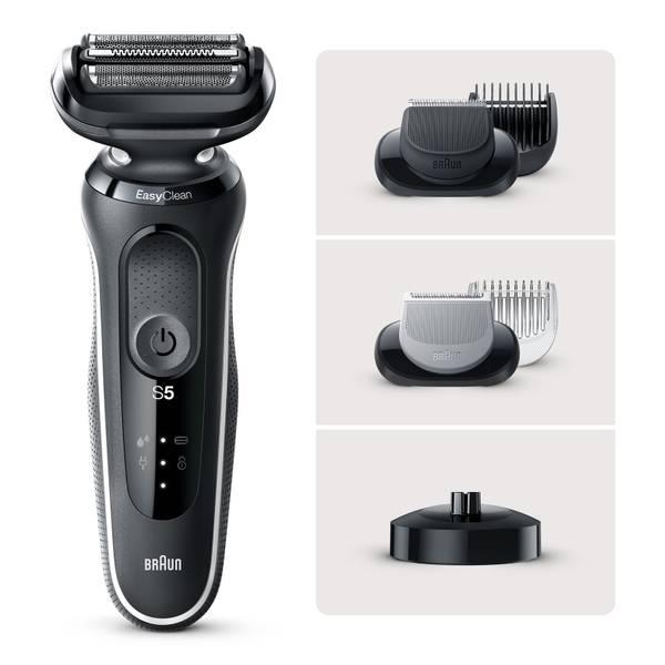 Braun Series 5 50-W4650cs Electric Shaver, White