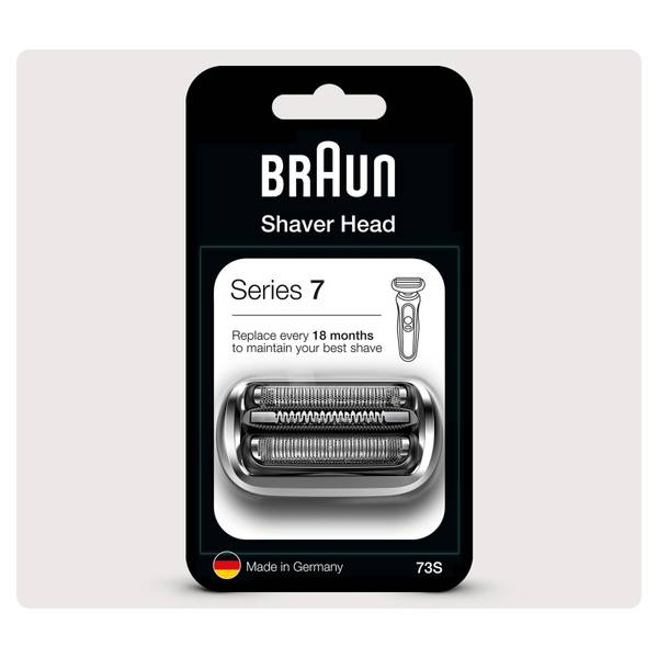 Braun Series 7 73S Electric Shaver Head Replacement, Silver