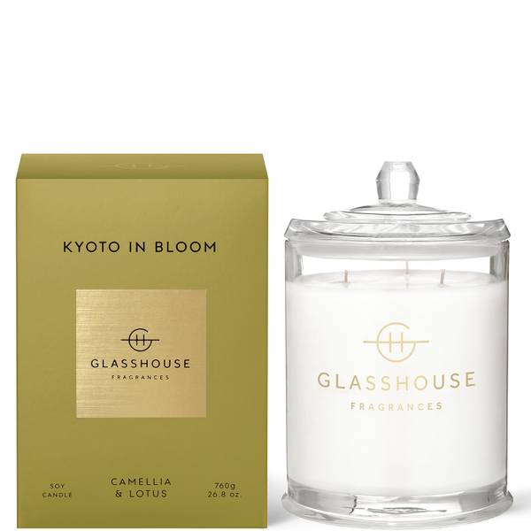 Glasshouse Kyoto in Bloom Candle 760g