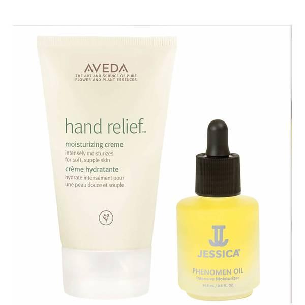 Aveda Hand Relief and Jessica Phenomen Oil Duo