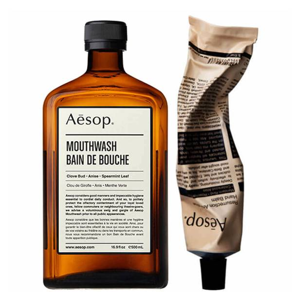 Aesop Hand Balm and Mouthwash Duo (Worth £38.00)