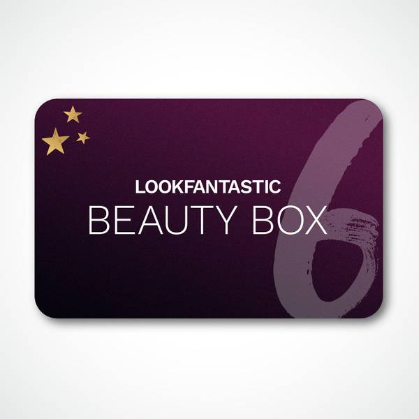 LOOKFANTASTIC Beauty Box 6Month Subscription Gift Voucher