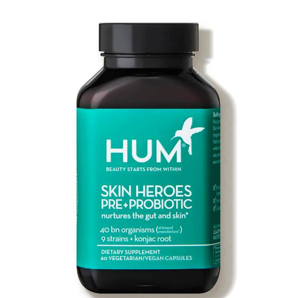 HUM Nutrition Skin Squad Pre+Probiotic Clear Skin Supplement