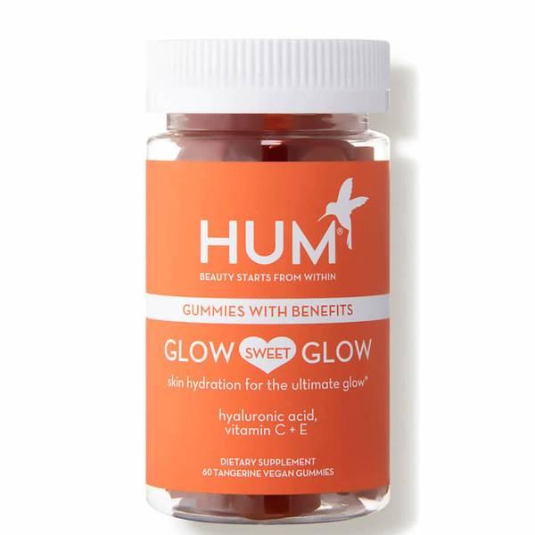 HUM Nutrition Glow Sweet Glow Radiant Skin Supplement (60 Vegan Gummies, 30 Days)