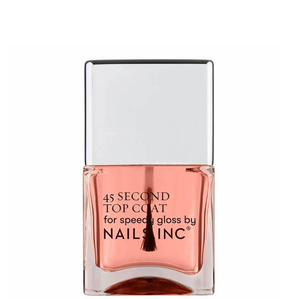 nails inc. 45 Second Rapid Dry Top Coat Powered by Retinol 14ml