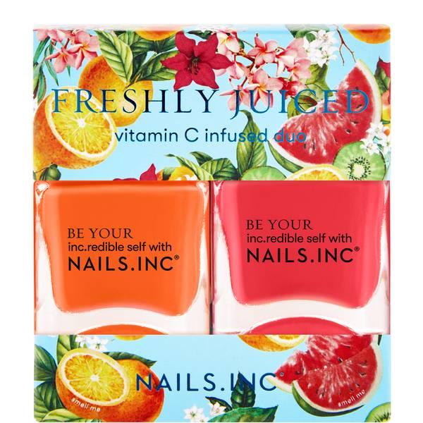 nails inc. Freshly Juiced Top Coat Duo 2 x 14ml