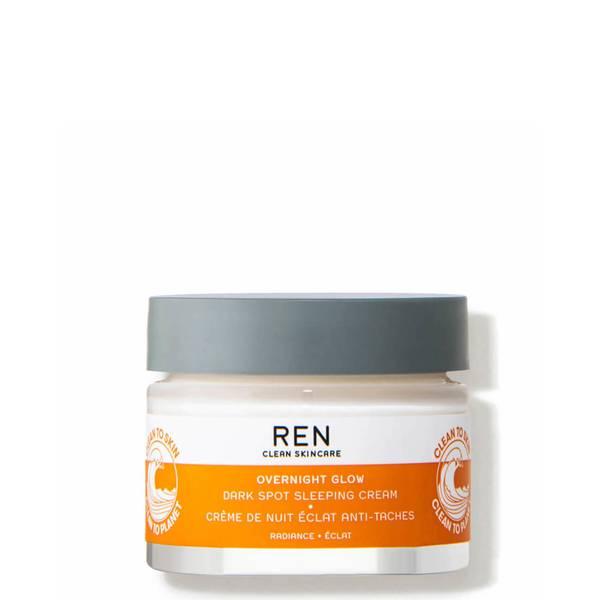 REN Clean Skincare Overnight Glow Dark Spot Sleeping Cream (1.7 fl. oz.)