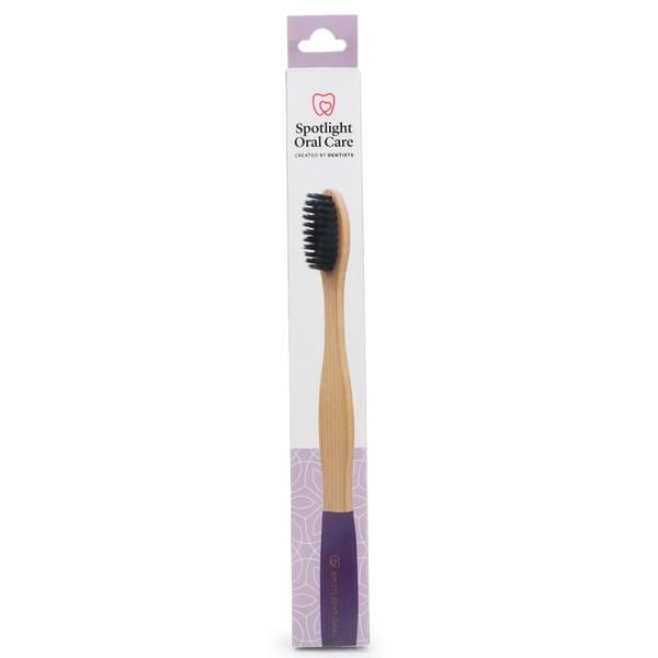 Spotlight Oral Care Bamboo Toothbrush - Purple