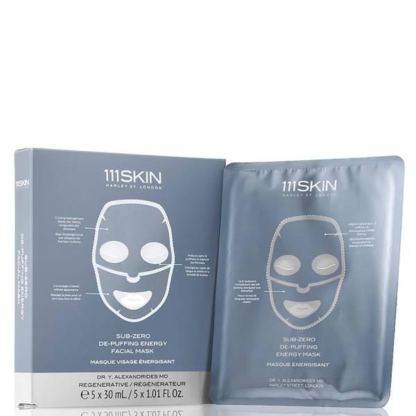111SKIN Sub-Zero De-Puffing Energy Mask Box (5 count)