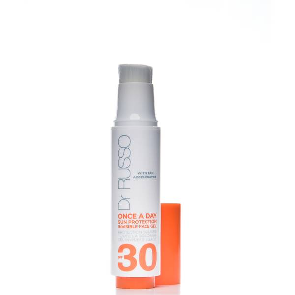 Dr. Russo Once a Day SPF30 Sun Protective Face Gel Tan Accelerator 15ml