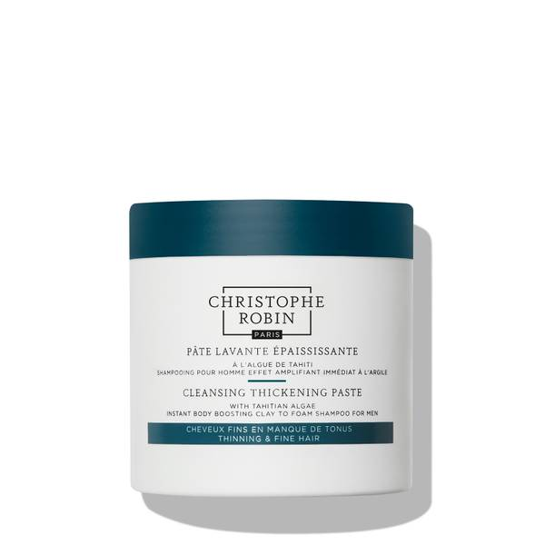 Christophe Robin Cleansing Thickening Paste with Pure Rassoul Clay and Tahitian Algae 250ml