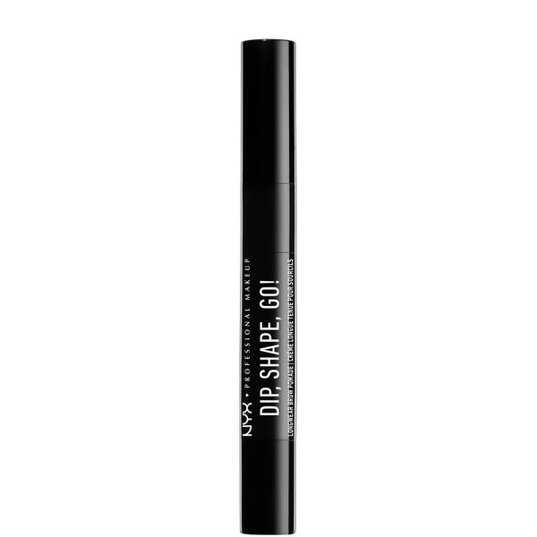 NYX Professional Makeup Dip, Shape, Go! Longwear Brow Pomade (Various Shades)