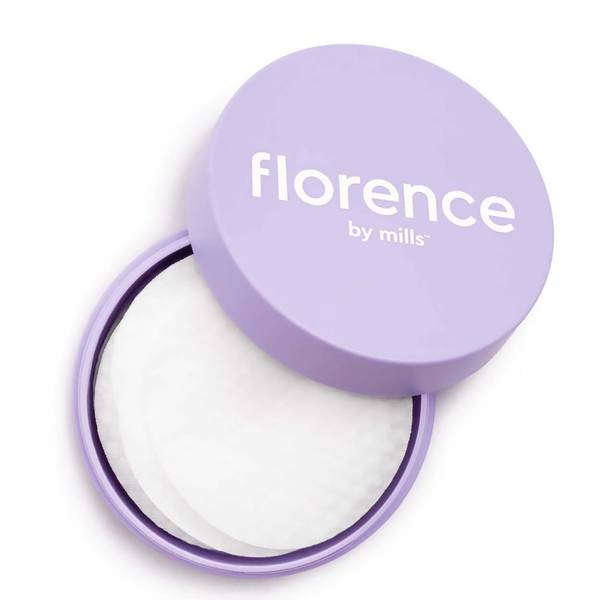 Florence by Mills 1 Swipe Glow Wipe Treatment Pads 30ct