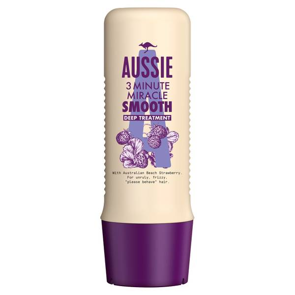 Aussie 3 Minute Miracle Scent-Sational Smooth Hair Conditioner Treatment 250ml