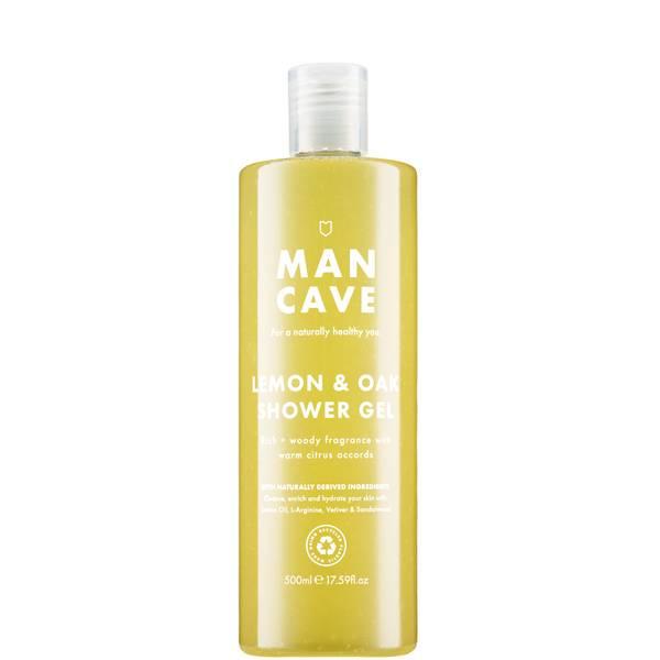 ManCave Lemon & Oak Shower Gel 500ml