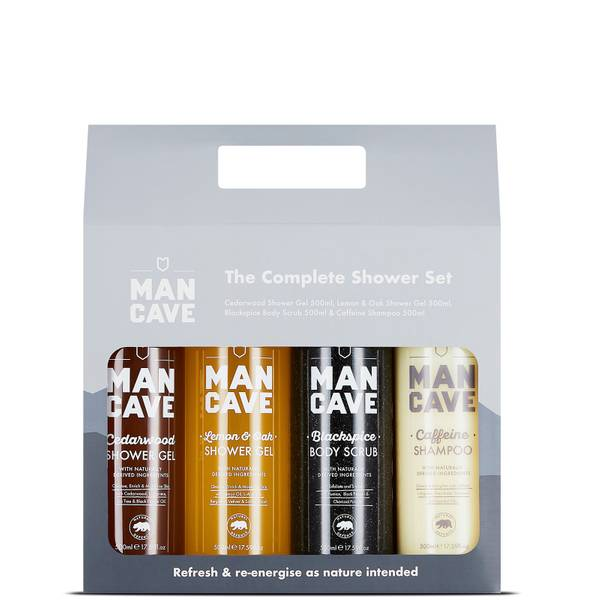 ManCave Complete Shower Set