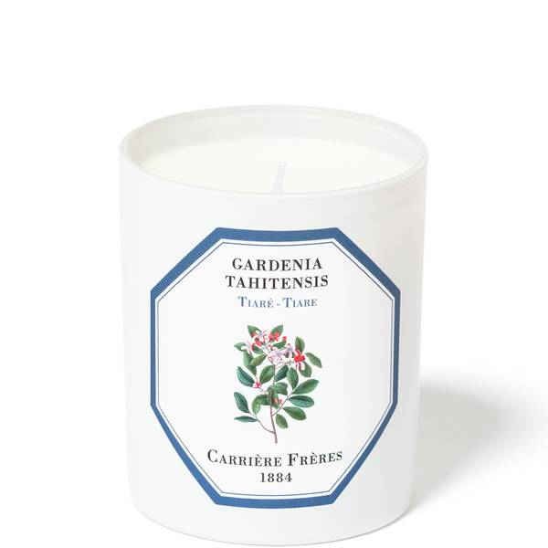 Carrière Frères Scented Candle Tiare - Gardenia Tahitensis - 185 g