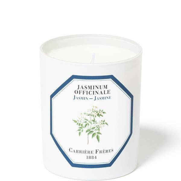 Carrière Frères Scented Candle Jasmine - Jasminum Officinale - 185 g