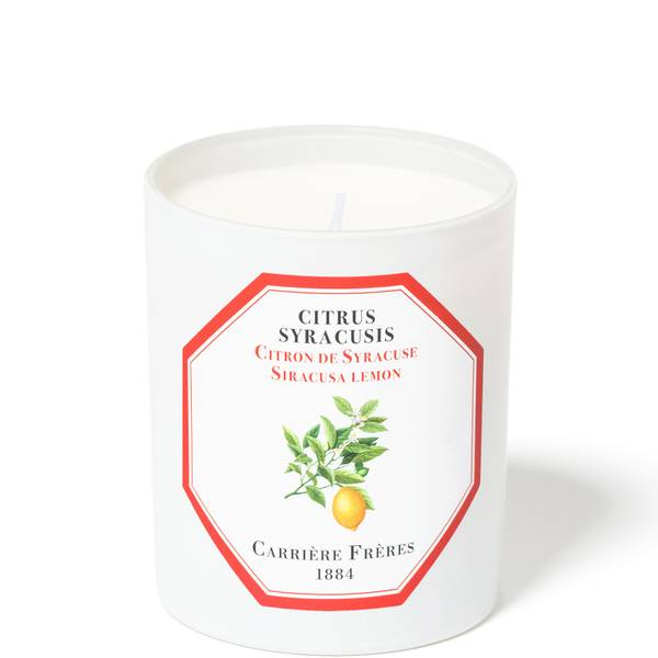 Carrière Frères Scented Candle Siracusa Lemon - Citrus Syracusis - 185 g