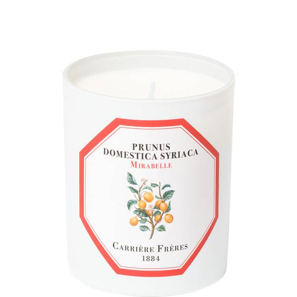 Carrière Frères Scented Candle Mirabelle - Prunus Domestica Syriaca - 185 g