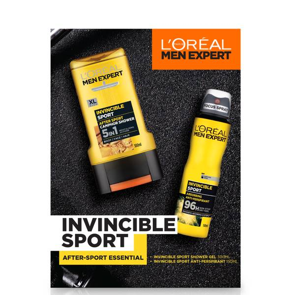 L'Oreal Men Expert Invincible Sport 2 Piece Gift Set for Him