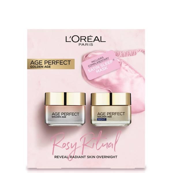 L'Oreal Paris Rosy Ritual Skin Care Gift Set per lei