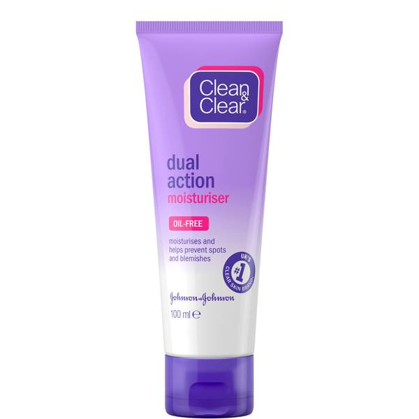 Clean & Clear Dual Action Moisturiser 100ml