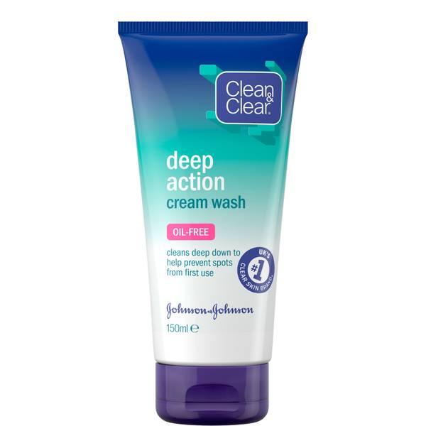 Clean & Clear Deep Action Cream Wash 150ml