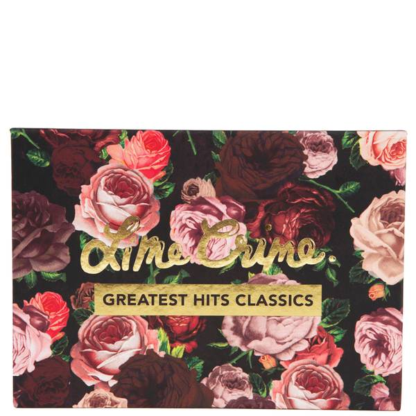Lime Crime Greatest Hit Classic Eyeshadow Palette 14g
